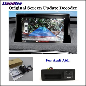 HD Front Reverse Reversing Parking Camera For Audi A6 C7 C8 2011-2020 Not Fit C4 C5 C6 Rear View Rearview Backup Camera Decoder car rear view rearview backup camera for audi a1 8x 2010 2018 reverse reversing parking camera full hd ccd decoder accesories