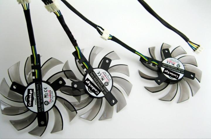 Nuevo original Power Logic PLD08010S12HH 4pin para gigabyte ventilador de la tarjeta gráfica GTX 780/780TI GTX 760/770 R9 290