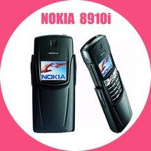 100% Original Refurbished NOKIA Titanium 8910i Mobile Phone GSM DualBand Unlocke
