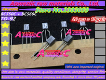 Aoweziic 10 ペア 100% 新インポート元の BC550 BC560 BC550C BC560C BC550B BC560B に 92 低ノイズオーディオ三極管 (1 ペア)