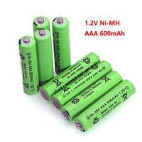 1,2 V NI-MH AAA baterías 600mAh batería recargable nimh 1,2 V Ni-Mh aaa para Control remoto eléctrico coche juguete RC ues