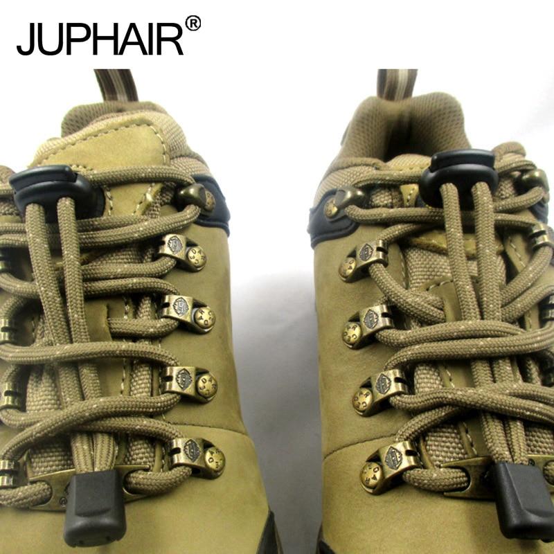 JUP50 Sets 200 Pcs Convenient Antis Shoes Buckle Lazy Laces Anchors Tieless Lace Tightening Non-Slip Buckle Shoelace Clip Buckle