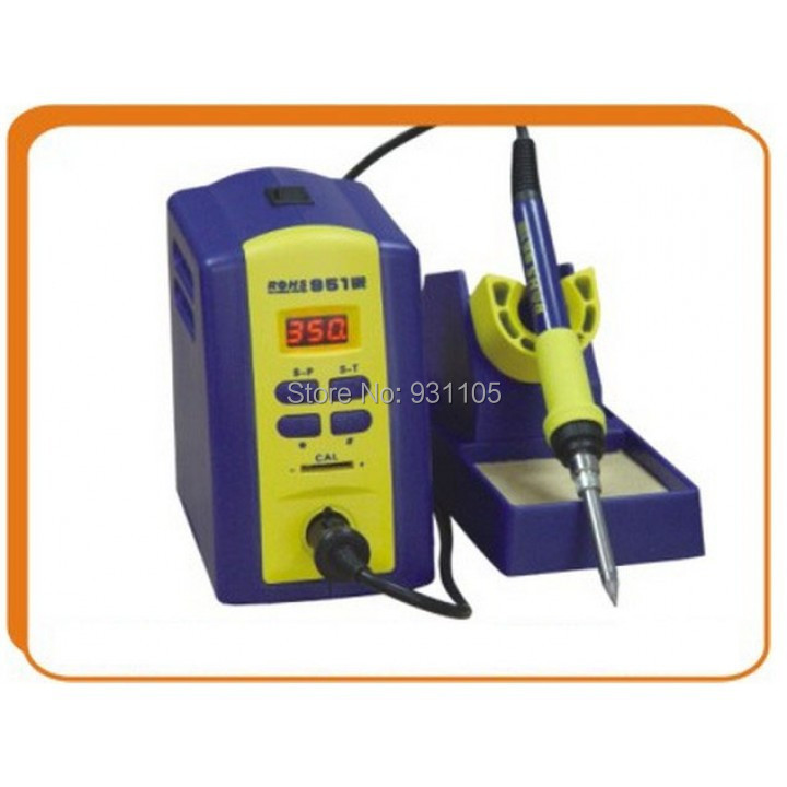 Welding Soldering Station + Soldering Iron 80 W Intelligent Lead-free ESD ROHS-951 CE Certificate One Year Warranty
