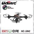 U842 Cámara RC Quadcopter helicóptero 2.4 Ghz de 4 Canales 6 AXIS UFO grande con cámara de ALTA DEFINICIÓN y protección 360 Rodando acción