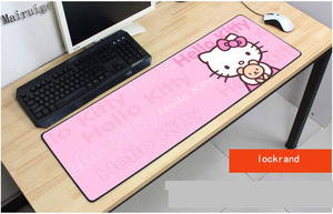 Great Buy Mairuige Free Shipping 400*900 Large Size Cute Cat Mousepad Pets Gift  Customize Anti Slip Gaming Mouse Pad Fashion Mouse Mat — nvrelitisrs