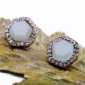 New Exquisite Charm Brand Jewelry Fashion Irregular Geometric stud Earring For Women Dress Accessories