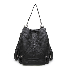 Высокое качество Для женщин рюкзак мешок школы для подростка Обувь для девочек Сумки на плечо многофункциональный Backacks
