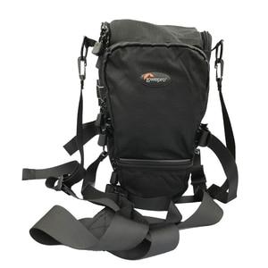 Image 3 - Lowepro topلودر 75AW المحمولة حقيبة مثلث topلودر 75 AW حقيبة كاميرا عدسة SLR حزمة حقيبة مع غطاء للمطر