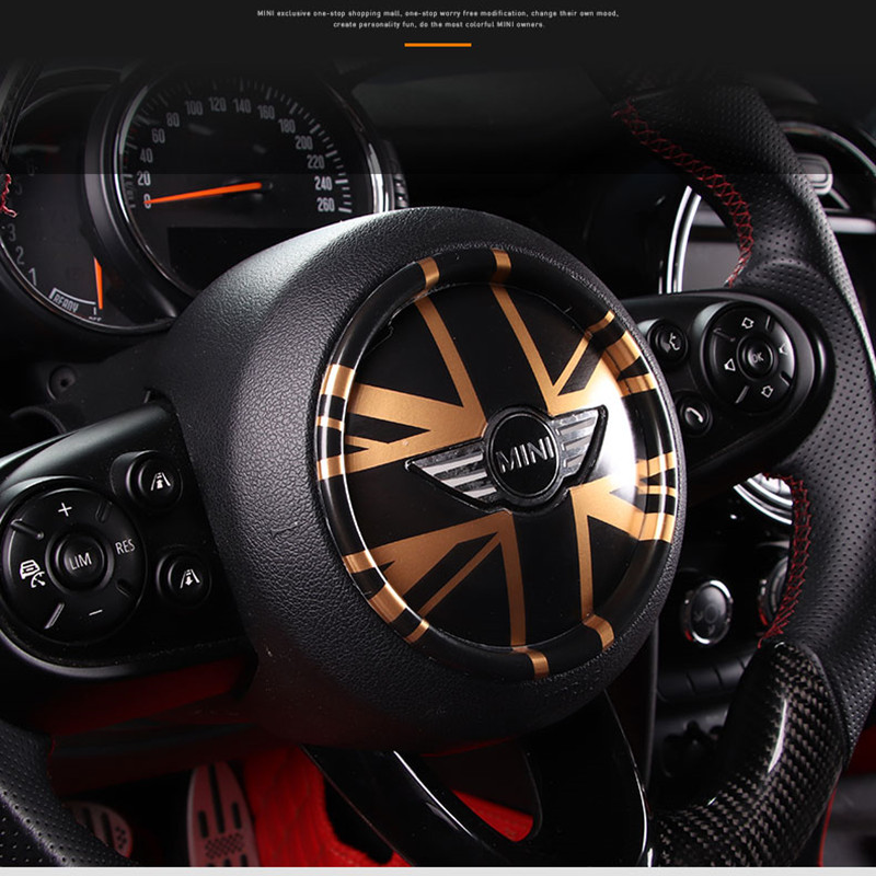 NEW 9 options car steering wheel center covers accessories For mini cooper f54 f60 f55 f56