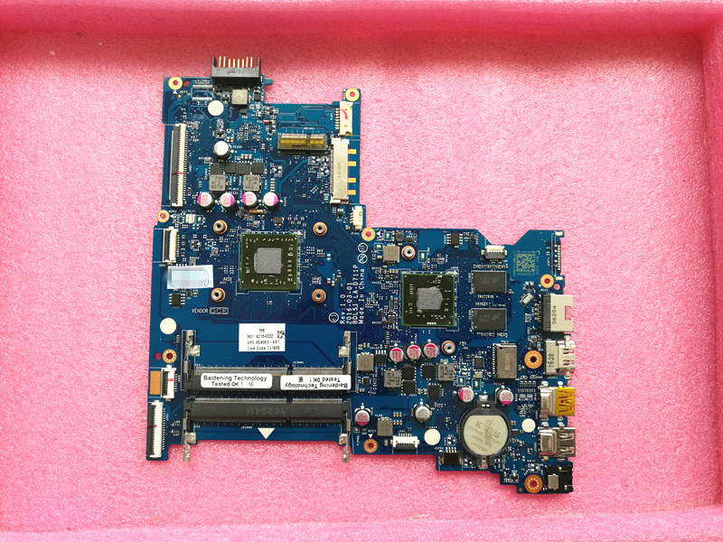15 BA Series Laptop Motherboard With A8 7410 CPU 860340 001 BDL51 LA D711P R5 M330