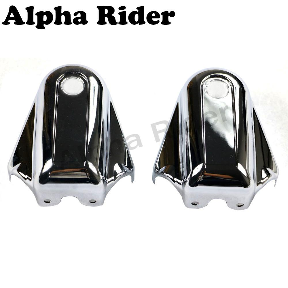 Black+Silver Motorcycle Cover For Harley Davidson Heritage Softail Classic FLSTC