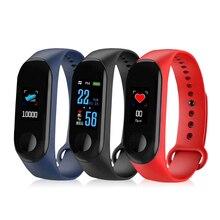 ZoneQuality M3 pulseira De Fitness tela IP67 cor à prova d' água a pressão arterial de Oxigênio monitor de freqüência cardíaca esporte inteligente da banda para o homem