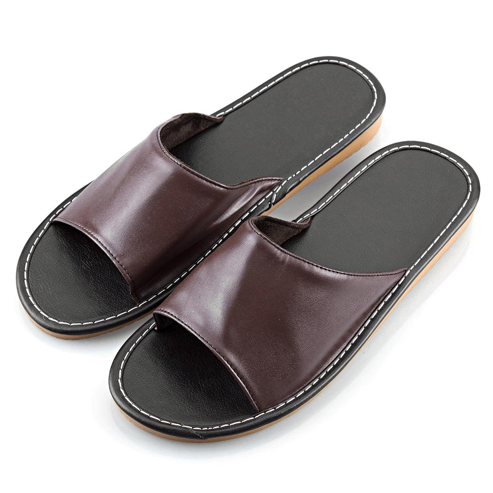slippers leather