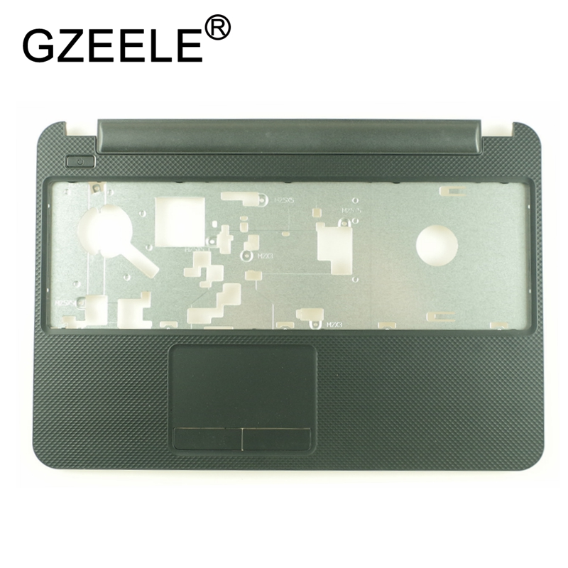 GZEELE new For DELL for inspiron 15R 3521 2521 3537 3521 5521 5537 laptop Palmrest upper Case Cover keyboard bezel topcase black new laptop hinge for dell inspiron 15 3521 5537 5537 2521 2528 3537 i15rv 1667blk 15 6 pn amosz000200 amosz000100