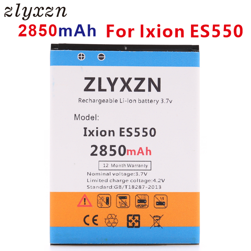Ixion ES550 en Stock alta calidad 2850 mAh batería para DEXP Ixion ES550 ES 550 celular Bateria + número de seguimiento