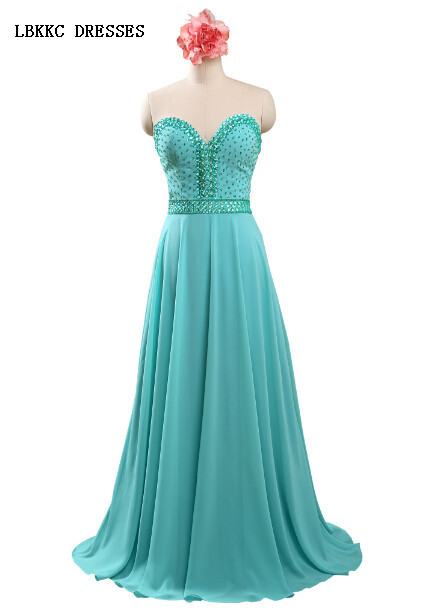 2015 Sweetheart Chiffon Mint Green Cheap Prom Dresses Piece Under