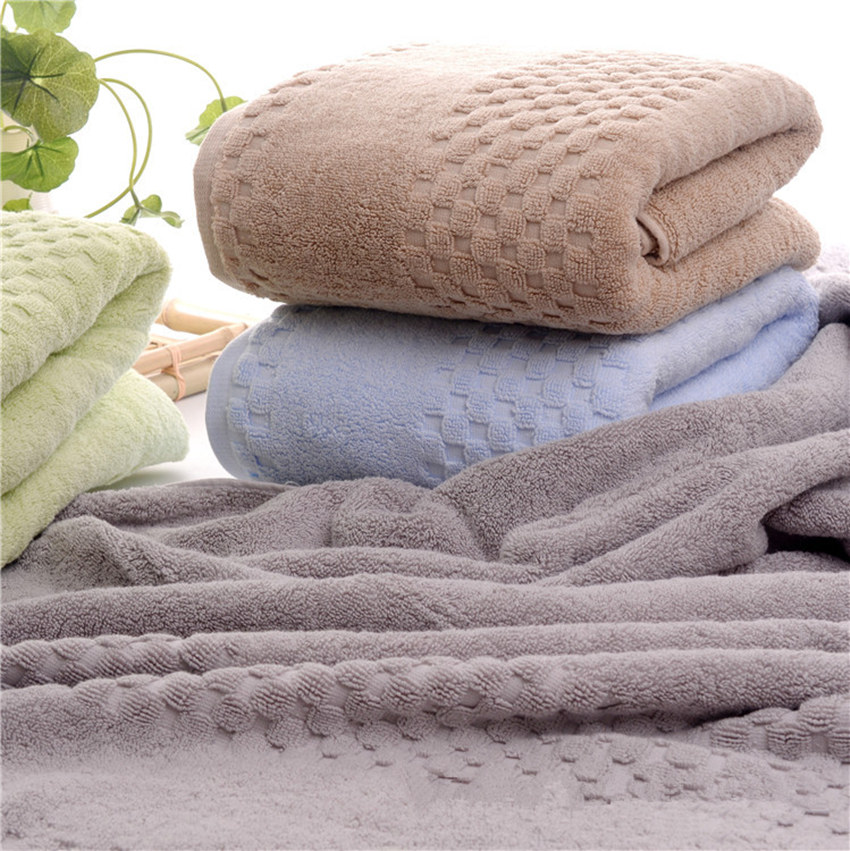 2pcs70 145cm 750g Luxury Egyptian Cotton Bath Towels for Adults Extra Large Sauna Terry Bath Towels