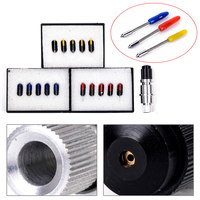 1pc New Blade Holder 15pcs 30 45 60 Degree Blades For Graphtec CB09U CB09 Cutting Tool