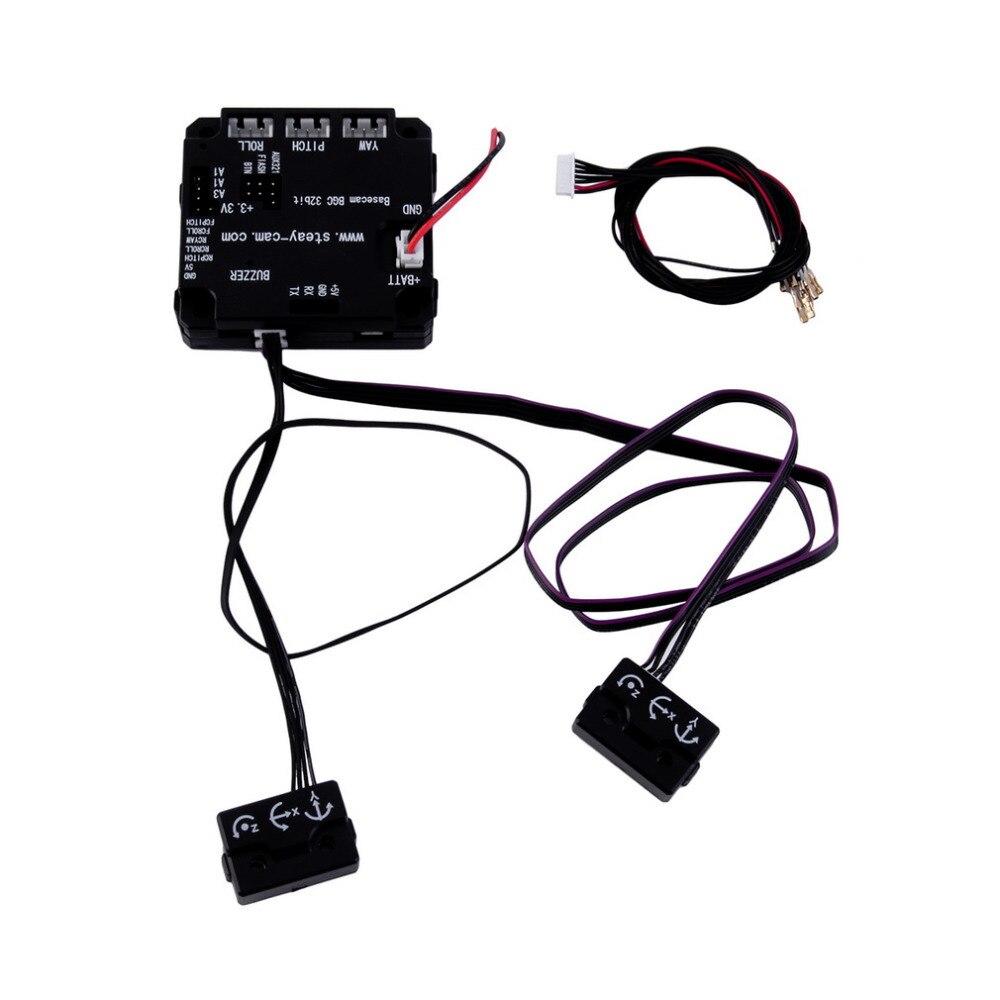 32 бит 3-осевой Бесщеточный Gimbal Плате Контроллера С Protect Case Оптовая