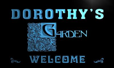 x2010-tm Dorothys Garden Custom Personalized Name Indoor Neon Sign Wholesale Dropshipping On/Off Switch 7 Colors DHL