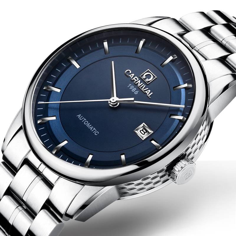 Switzerland Carnival Watch Men JAPAN MIYOTA Automatic Mechanical Brand Luxury Men Watches Sapphire reloj hombre Clock C5668G-2