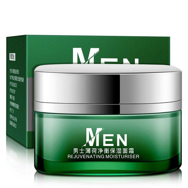 Los hombres profundo hidratante de aceite de control cara crema hidratante Anti-envejecimiento Anti arrugas blanqueamiento Día Crema 50g