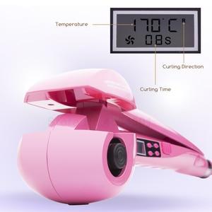 Image 4 - Nowy ekran LCD automatyczne kobiety lokówka do włosów grzejnik ceramiczny fala narzędzia do stylizacji włosów pielęgnacja włosów Curl magiczne loki żelazny fryzjer