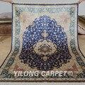 """Yilong 5 5 'x8 """"silk türkische teppiche rechteck vantage hand geknüpfte persische teppiche (0220)-in Lumpen aus Heim und Garten bei"""