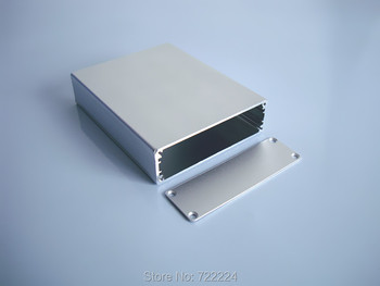 10 pcs/lot 79*24*100mm Silvery injected aluminum enclosure 6063-T5 project box for power supply housing DIY jucntion switch case