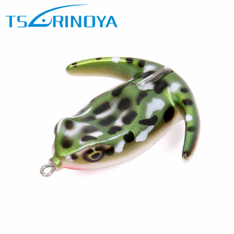 Trulinoya Soft Frog Bait 70mm 17.5g Fishing Lure Bass Snakehead Killer Soft Lures Isca Artificial Para Pesca Leurre Peche Souple trulinoya ray frog style soft plastic fishing lure bait w hook beard fluorescent yellow