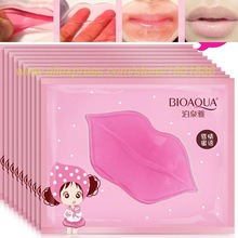 10 St Super Lip Voller Crystal Collageen Lip Masker Pads Vocht Essentie Anti Aging Rimpel Patch Pad Gel Volledige Lippen Enhancer
