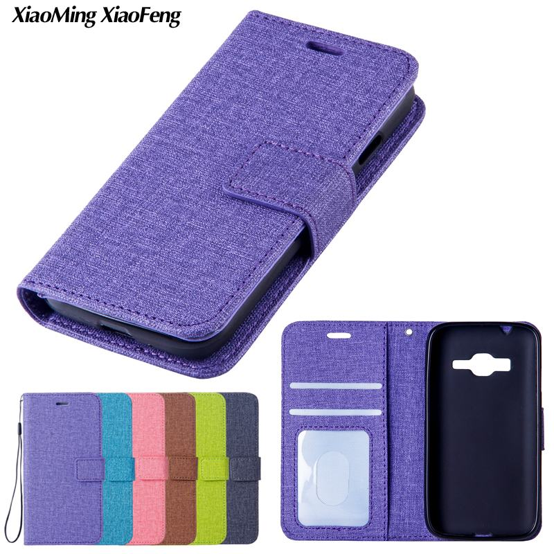For Samsung Galaxy J1 Mini Prime Case Leather + Silicone Flip Cover Samsung Galaxy J1 Mini Prime Phone Case Stand Wallet Coque ...