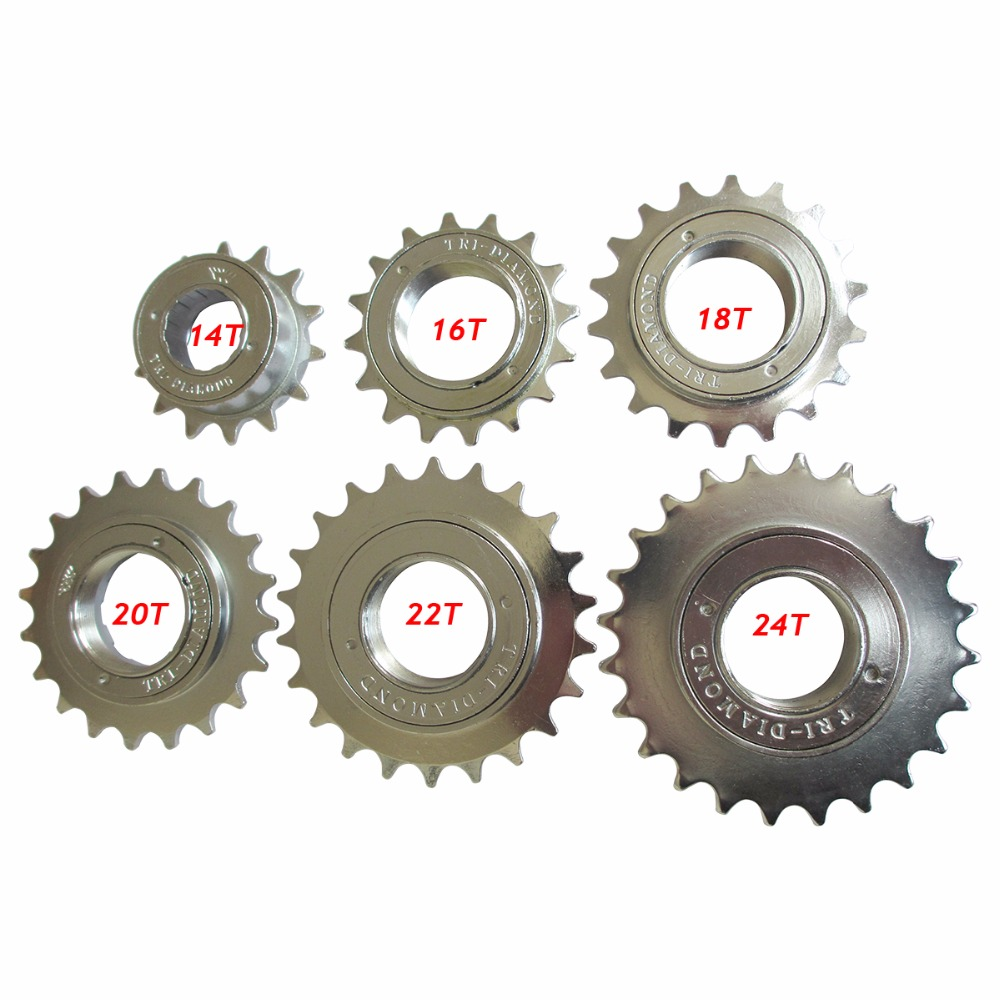 14t 16t 18t 20t 22t 24t Fixed Gear Bike Bicycle Mtb