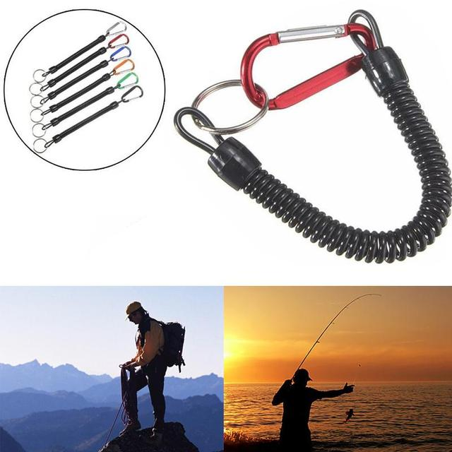 Elastic Secure Plier Lip Grip Rope Line Tackle Tools Boating Rope Kayak Camping Fish Pole Rod Protector climbing accessories