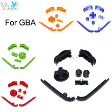 YuXi Replacement Buttons Keypads L R A B Buttons For Gameboy Advance Buttons Frame For GBA D Pads Power ON OFF Buttons недорого