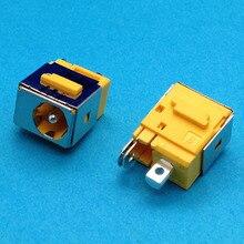 1x新しいためacer aspire 5920 5920g 6930 6930z 6930グラム6530グラムdc電源ジャックソケットポート黄色1.65