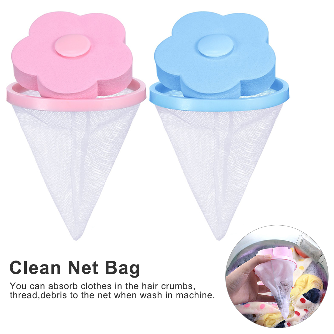 Filter Bag Mesh Filtering Hair Removal Device Wool Floating Washer Style Laundry Cleaning NeededFilter Bag Mesh Filtering Hair Removal Device Wool Floating Washer Style Laundry Cleaning Needed