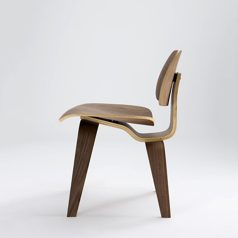 ch053 wholesale popular classic dining chair factory direct sales walnut plywood dining chair natural molded plywood ch177 natural side chair walnut ash