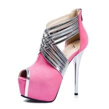 2017 High heels sneakers for ladies Women's sneakers with heels footwear shoe zapatos mujer sapato platform feminino shoe girls p Four
