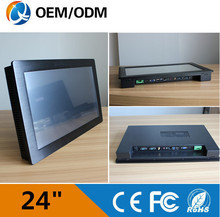 24 industrial Capacitive touch screen pc Resolution 1920x1080 embedded computer with Intel 3217U 1 9GHz