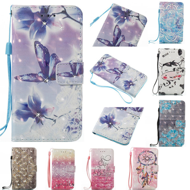 """3D Painting Magnetic Flip case for ZTE Zmax Pro Z981 6.0""""inch Luxury Wallet card slot Phone leather Case for ZTE Z981 Cases"""