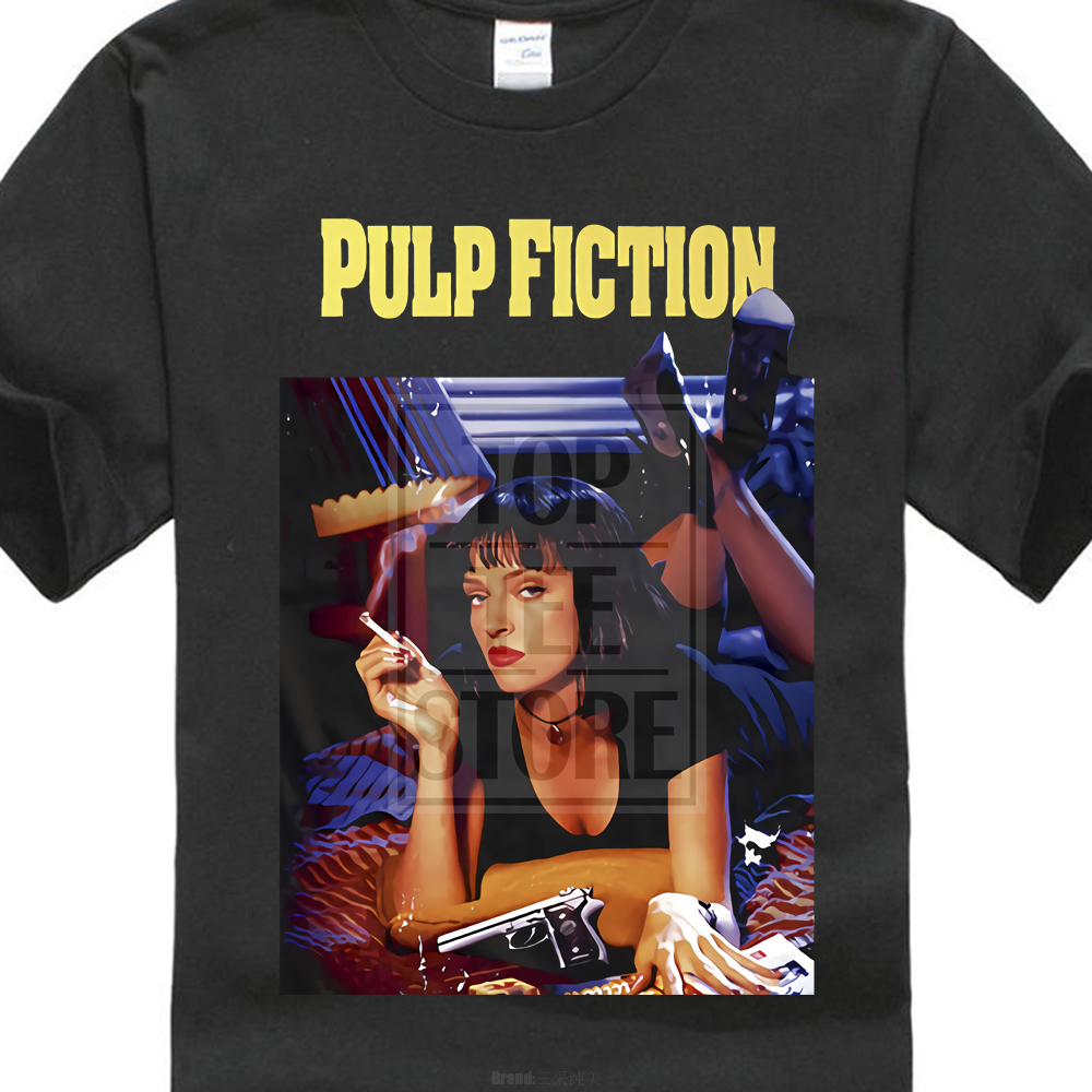 pulp-fiction-poster-1994-quentin-font-b-tarantino-b-font-t-shirt-all-sizes-s-to-4xl