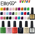 Elite99 7.3ml Gel Nail Kit 20 Colors In 79 Colors Gelishgel Salon Effects Nail Polish Manicure Top Base Coat Free Tip Guides