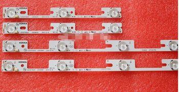 original 4pcs=1lot LED32F1100CF led backlight 35020126 35020125 (2pcs 4led +2pcs 3led)