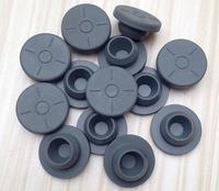 1000pcs 20mm Butyl Rubber Stopper Plug For Medical Glass Bottle Vials