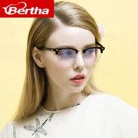Bertha Men Women Anti Radiation Glasses Anti Fatigue Computers Eyewear Classic Anti Blue Ray Goggles 011