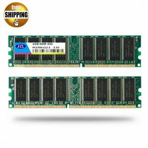 Оперативная память JZL для настольных ПК, оперативная Память DIMM для настольных ПК, DDR, 333 МГц/PC2700 DDR333/DDR1, 333 МГц, ddr333мгц, 1 ГБ, LC2.5, 184PIN, не ECC, 2,5 в