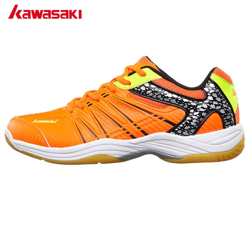 Kawasaki Brand Herre Badminton Sko Professionelle Rackets Sportssko til Kvinder Åndbar Indoor Court Sneakers K-061 062 063