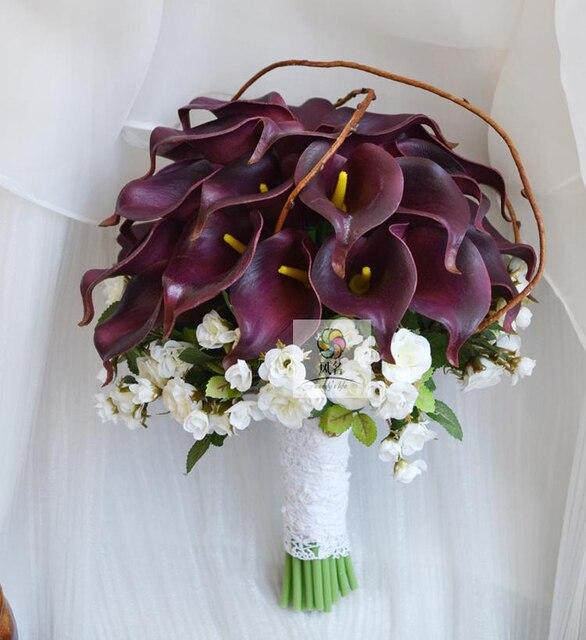 Handmade Hochzeit Bouquet Hochzeit Blumen Brautjungfer Blumenstrausse