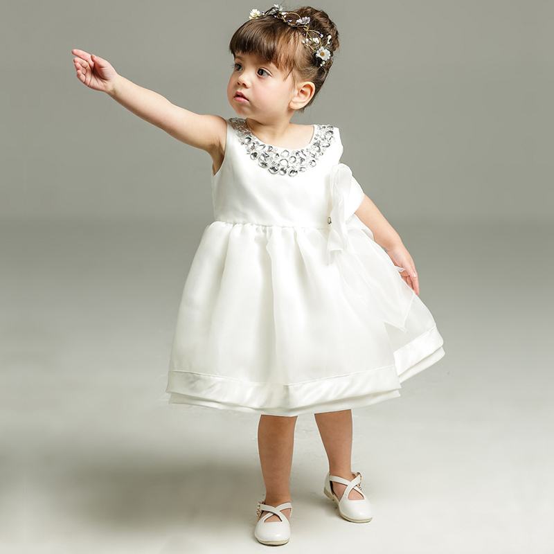 Sun Moon Kids Children's Dresses 2017 White Princess Costume Fashion Ball Gown Kids Clothes Sleeveless Girls Summer Dress summer princess dress 2017 hot sale sleeveless children girls dresses clothing fashion ball gown kids girl star sky dresses page 3